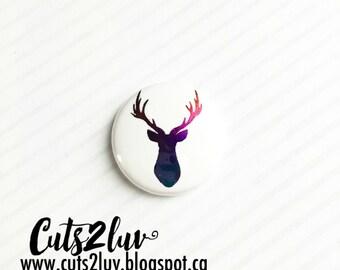 "Badge 1 ""deer Multi tones *."