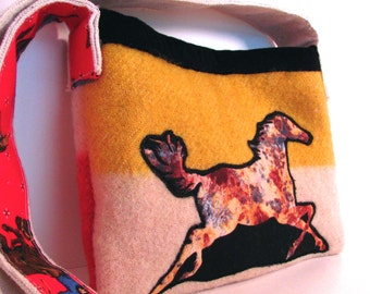 Handmade Hudson Bay Blanket Bag Horse Purse Urban Cowgirl