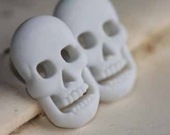 Skulls Stud Post Earrings