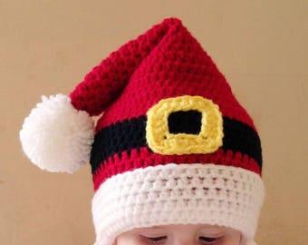 Childrens Santa Hat