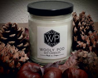 Wooly Pod Soy Candle: Free shipping with-in the U.S. on all candles.