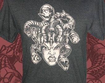 Medusa Cyborg Mens Tee - Medusa Cyborg Tshirt