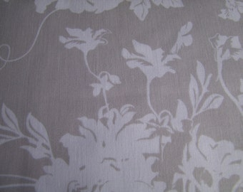 Gray Rose Cliff Main Rose Cliff Manor by Emily Taylor Riley Blake Designs 1 Yard SALE