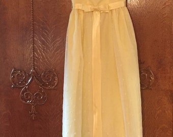Emma Domb Yellow Prom Dress