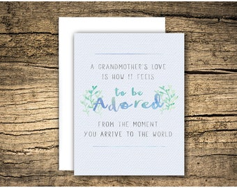 loss of grandparent / loss of grandma, loss of grandpa, sympathy card, condolence card, grief card, bereavement card, death of grandparent