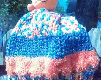 Hand Knit Children's Hat