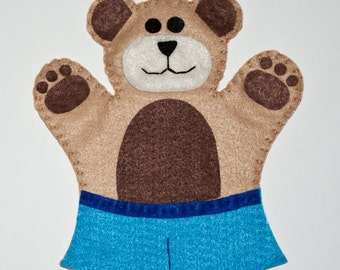 Teddy Bear Hand Puppet