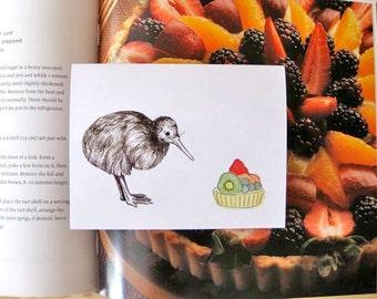 Kiwi Bird Card