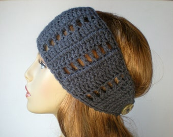 PATTERN:  Lattice Head Wrap, Ear Warmer, head band, hair band, winter, Easy Crochet PDF, ski band, InStaNT DoWNLoAd,Permission to Sell