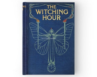 Hard Cover Journal Antique Style The Witching Hour Book