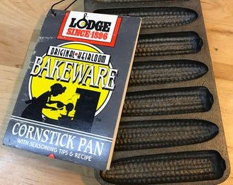 Cast iron vintage cornbread pan