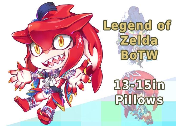 Legend of Zelda Breath of the Wild LoZ BotW Sidon Mipha Revali