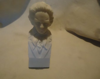 Vintage Small Bust Of Beethoven,  collectable