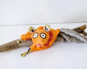 Squirrel blankie - Squirrel security blanket - Stuffed Animal - Baby Shower Gift - Baby gift
