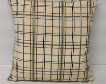 Decorative Pillow, Accent Pillow, Pillow Cover, Plaid Pillow, Throw Pillow, Farmhouse Pillow, Pillow, Velvet Pillow,
