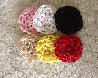 Small hair bun cover, Bun wrap, Bun holder, Ballet, Ballet dance, Hair accessories.
