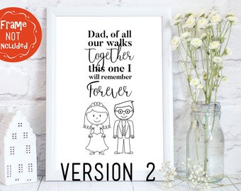 father of the bride gift, wedding gift for dad, father daughter gift, father gift, Wedding party gift, parents of the bride gift