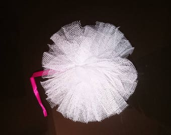 set of 10 tassels tulle for decoration