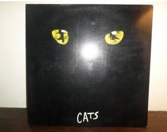 Vintage 1981 Vinyl LP Record Cats Motion Picture Soundtrack Excellent Condition 10020