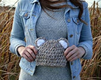 Ours Bonnet en tricot / enfant chapeau /cadeau de Baby ours bonnet / Tuque ours / ours bonnet / enfant ours chapeau / Photo Prop chapeau