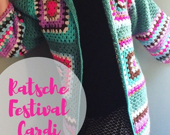 Ratsche Festival Cardi (Tutorial in english with pics and explanations)