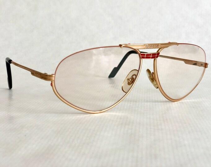 Ferrari F1 524 Vintage Eyeglasses New Old Stock Made in Italy