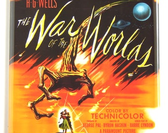 War of the Worlds Movie Poster Fridge Magnet (3 x 3 inches)