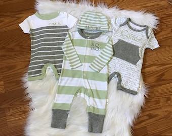 Newborn going home outfit boy, newborn boy gift, newborn baby boy outfit