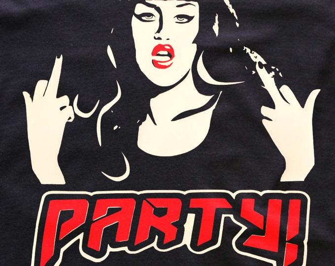 Adore Delano 'PARTY' T-shirt Rupaul's Drag Race T-Shirts / dress/ tops