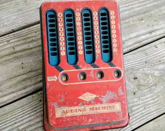 Vintage Adding Machine ~ Wolverine Adding Machine ~ Vintage Toy