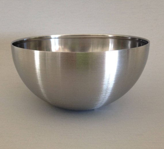 Small Bowl mold, form, this metal bowl makes a perfect mold for polymer clay bowls