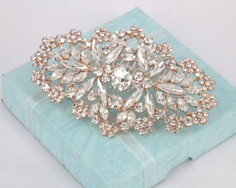 Pienza - Vintage Style  Rhinestone Bridal Comb