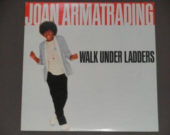 "Joan Armatrading - Walk Under Ladders - ""No Love"" - ""When I Get It Right"" - Pop Rock - A&M Records1981 - Vintage Vinyl Lp Record Album"