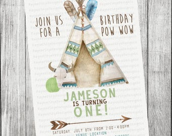 Boy TeePee, Tribal Invitation