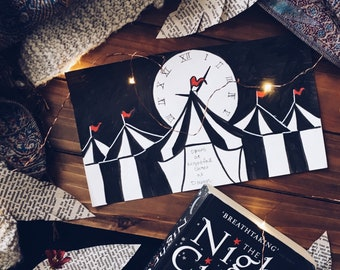 The Night Circus is Open, printable, instant download, quote