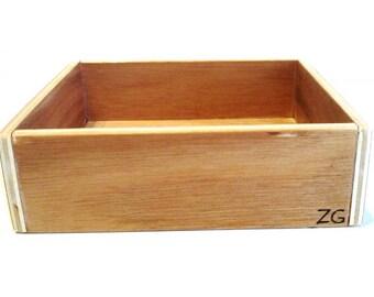 Box for letters rough SCRIPT Montessori