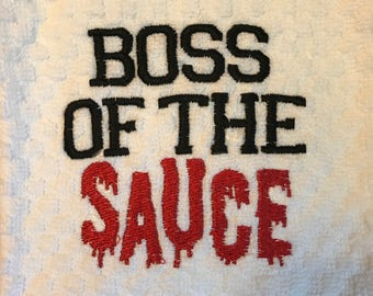Boss of the Sauce DOWNLOAD DIGITAL Design 4x4