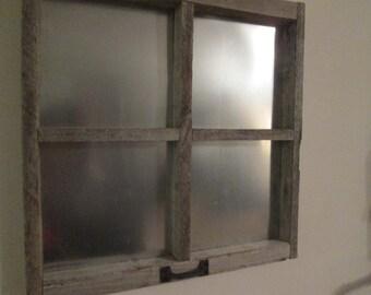 Window frame magnet board