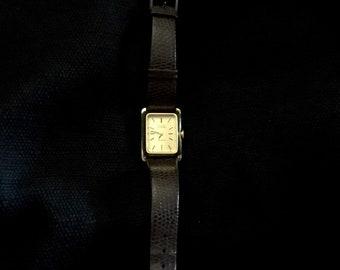 Bulova Accutron Gold Plated Watch