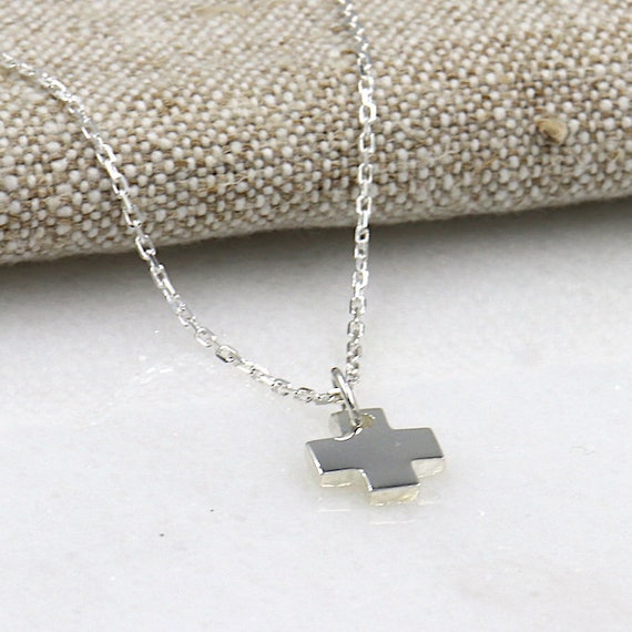 for women 925 Sterling Silver Cross Necklace