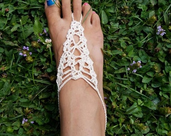 Lacey Barefoot Sandal