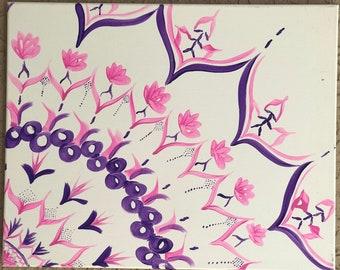 pink 16x20 mandala