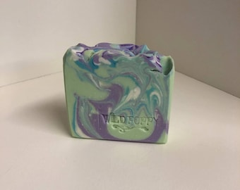 Alien Princess Soap / Artisan Soap / Handmade Soap / Soap / Cold Process Soap