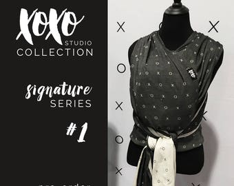 xoxo buckle wrap baby carrier - signature series 1 (pre-order)