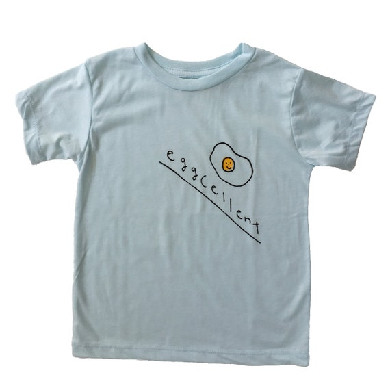 EGGCELLENT Toddler Tee - Blue