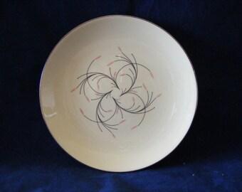 Mid Century Vintage - Homer Laughlin - Rhythm Capri Dessert / Pie Plate