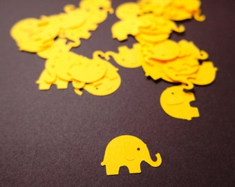 Elephant Confetti, Elephant Baby Shower, Baby Shower Decoration, Die Cut Elephant