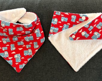 Carrier Trucks - bandana bib