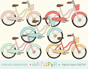 Vintage BiKE - digital clipart - for photography, personal use and small business project