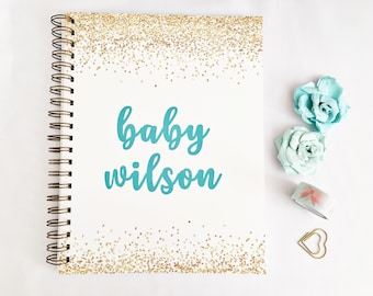 Custom pregnancy planner notebook, personalized mom gift for her, pregnancy gifts, pregnancy journal, pregnancy tracker, first Mothers day